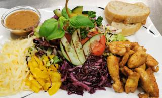 Salat Querschlag